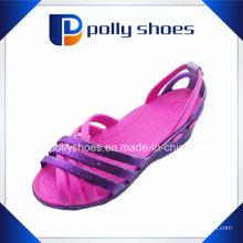 Design Femmes Sandales Sandales en plastique en gros