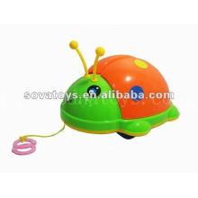 pull line animal toy beetle