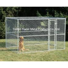 Большая цепная ссылка 6'x10'x6 'Собака Питомник Pet Pen Fence Run Outdoor House Enclosure