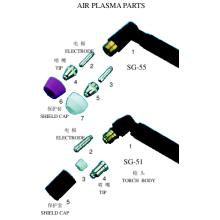 Luft-Plasma-Teile (Taiwan-Typ)