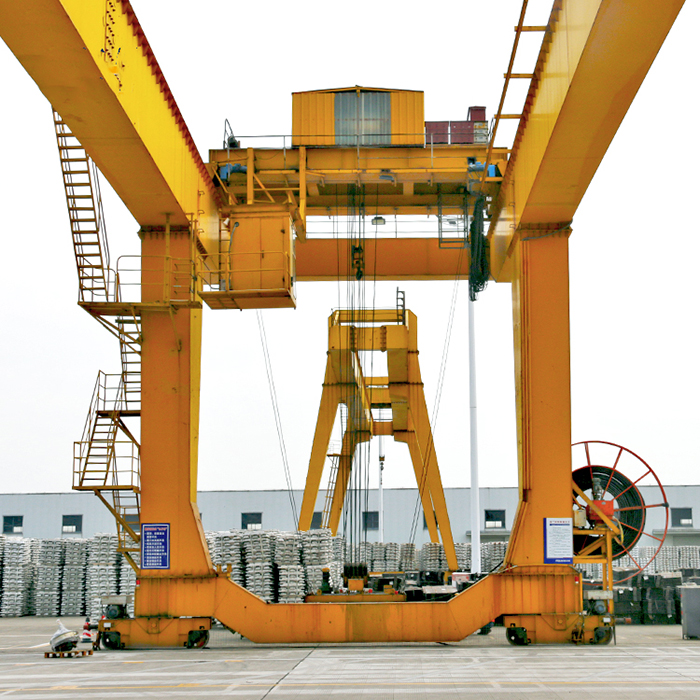 16 Tons Double Beam Gantry Crane