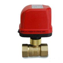 2-Way Brass Electric Control Motorized Ball Valve