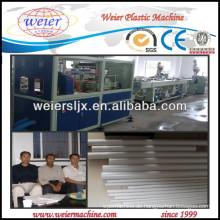elektrische Leitung PVC Rohr Maschine bauen
