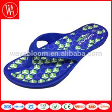 Pantoufle flip flop en caoutchouc, bascule en caoutchouc, sandales flip flop design