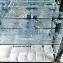 disposable transparent clear  plastic cup thermoforming