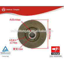 YUCHAI engine YC6105 crankshaft pulley 330-1005030B