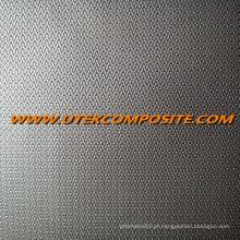 Um lado PU revestimento de fibra de vidro para cobertores à prova de fogo