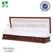 Cercueil populaire acajou rose intérieur sofa USA
