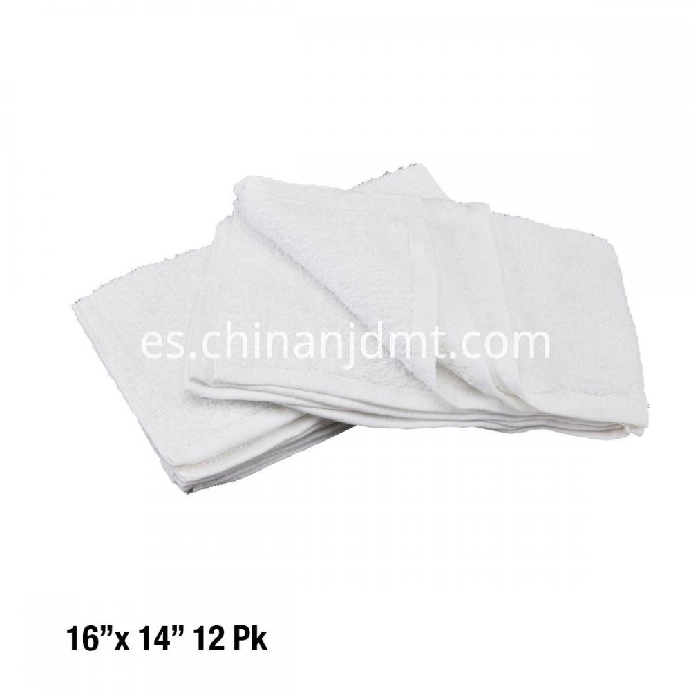 Cotton Terry Cleaning Towel 16x14 12 Pk