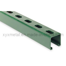 Gemalte Pulverlackierung C Shape Steel Profil Channel Section