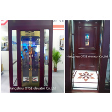 small residential glass elevators for 250kg lift