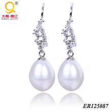 Arete de perla moda 2014 (BR125087)