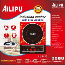 Ailipu 2200W fogão de indução de venda quente com voz modelo Alp-12