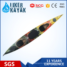 Profissional 5,5 m de comprimento plástico 2 assentos Kayak Boat