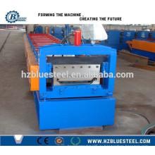 Горячая продажа хорошего качества PLC Industrial Self Lock оцинкованная машина для изготовления кровельных листов для продажи