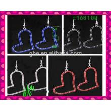 Die neuesten Design Schöne große Drop Ornament Ohrringe, Manschette Ohrringe