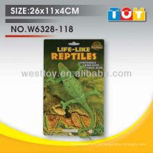 Modelo de lagarto por atacado brinquedo educativo borracha pequenos brinquedos macios para criança