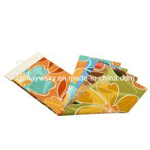 Fabrik-Preis der gebürsteten Microfiber großen Blumen-Designs Pigment-Drucken