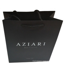 Paper Shopping Bag with Cotton Band Handle