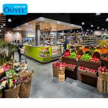 Freshmarket Food Supermarket Fruit Display Vegetables Fruits Display Stand Supermarket