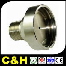 ISO9001 CNC precisión de mecanizado de torneado / fresado de piezas de aluminio