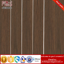 Китай поставка фабрики темно-коричневой деревянной керамическая плитка для магазина