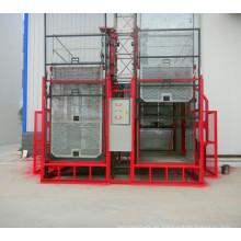 Sc200 / 200 Jaulas dobles Pasajeros Construcción Alzamiento del edificio