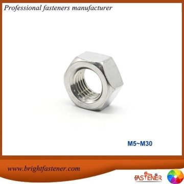 DIN UNI 5587 Thick Hex Nuts