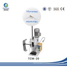 Machine à sertir de terminal à fil semi-automatique manuelle à haute précision