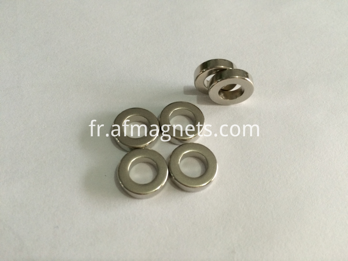 Diametrically Magnetized Ring Magnets
