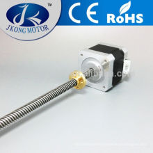 High quality threaded rod nema 8 stepper motor