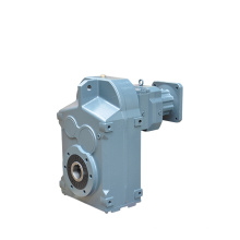REDSUN F series 1500 rpm motor Parallel Shaft Helical Transmission gearbox