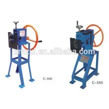máquina giratória de folha de metal