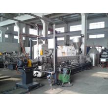Recycled plastic granulation machine