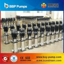 Pompe submersible centrifuge avec pompe multi-étages verticale en acier inoxydable