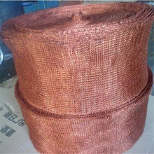 Copper Knitted Wire Mesh Screen for Filter