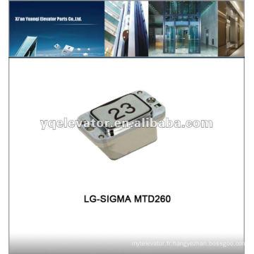 Bouton d'ascenseur LG-SIGMA MTD260