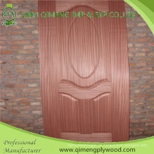 Face de papel de melamina 3,2 e 4,2 mm moldado HDF porta pele