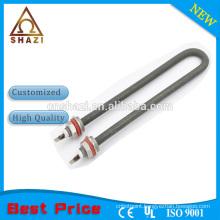 U-shape tubular heating element