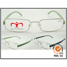 Hot Selling Colorful Tr90 Temples Metal Optical Frames (WRM503025)