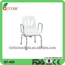 Cadeira giratória chuveiro paciente