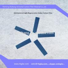 Fornecimento de carvão ativado Filtro de catalisador frio