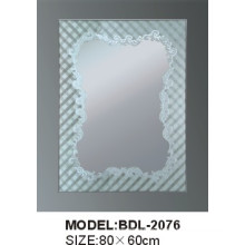 5mm Thickness Silver Glass Bathroom Mirror (BDL-2076)