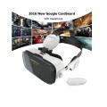 Google Cardboard Headmount Vr Box Lunettes 3D virtuelles sans fil Bluetooth Vr à distance