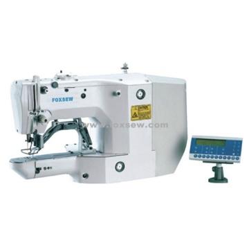 Máquina de costura eletrônica de acionamento por barra de acionamento direto