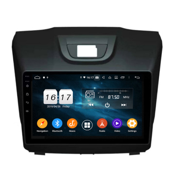 Android dvd-radio voor S10 D-MAX met Carplay
