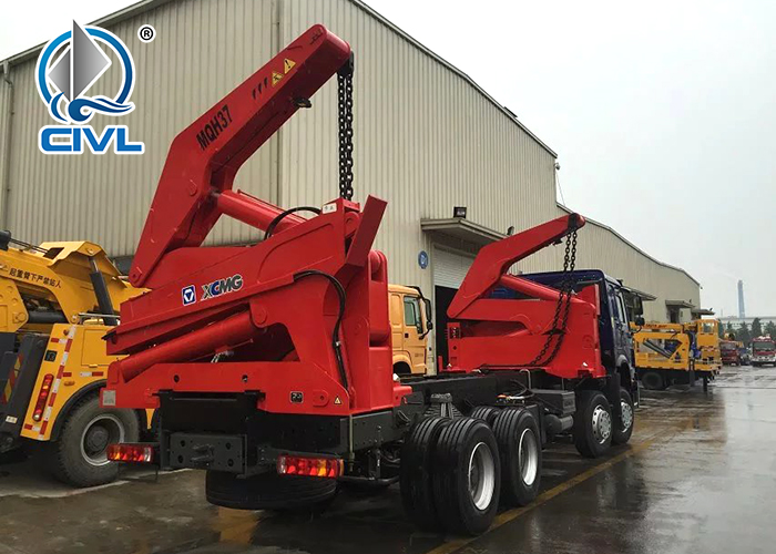 Howo 8x4 20ft Side Lifter1
