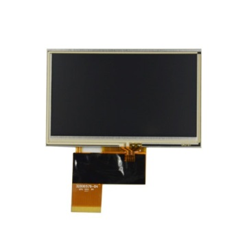 AT043TN24 V.7 Innolux 4,3-Zoll-Display mit Touchscreen