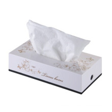 White Decorative Fancy Public Car Wholesale Wall Mounted Plastic Facial Tissue Paper Box