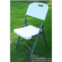 Chaise pliante avec dossier en HDPE